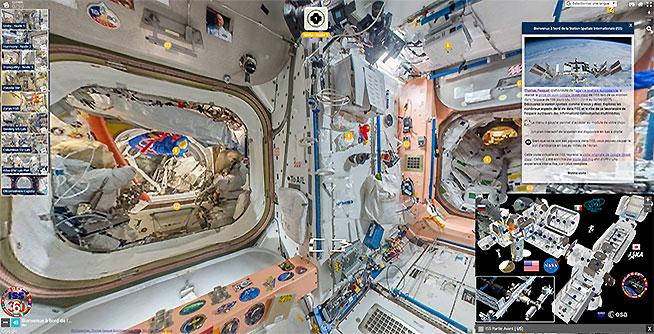 Visite virtuelle enrichie de la Station Spatiale Internationale ISS 360 Vignette