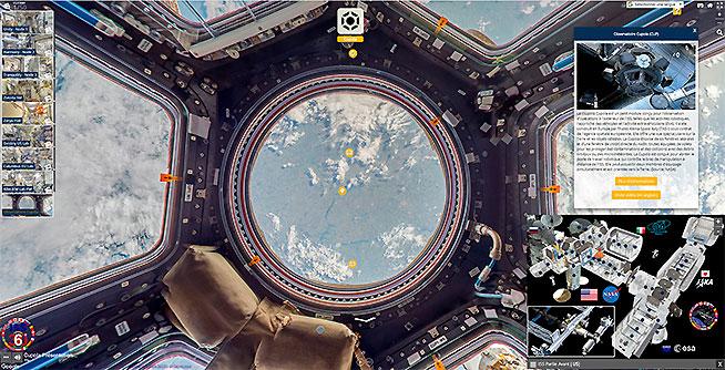 Visite virtuelle enrichie de la Station Spatiale Internationale ISS 360 Vignette2